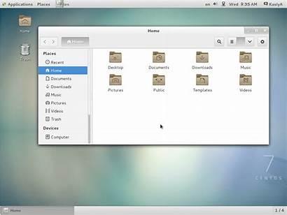 Centos Linux Desktop Gnome Install Environments Unix
