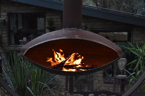 Just make sure you have a good safe spot. Tread Sculptures | Elegance Fire Pit with Chimney