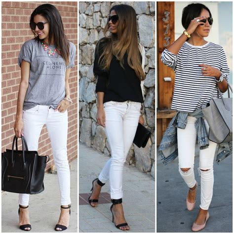 White Skinny Jeans Outfit | Bbg Clothing
