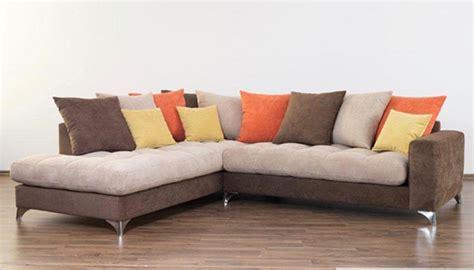 canapé d angle basika canapé d 39 angle à gauche maxi corfu marron beige orange jaune