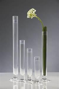 Glasvase 60 Cm Hoch : glasvase blumenvase schmale glas vase mit fu 40 cm ebay ~ Bigdaddyawards.com Haus und Dekorationen