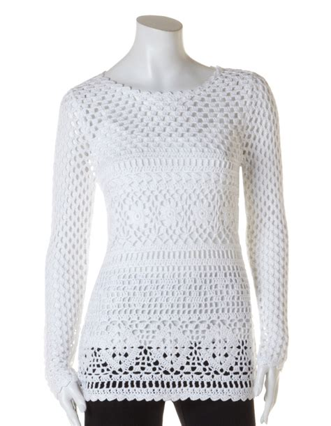 how to crochet a sweater how to crochet a pullover sweater crochet and knit
