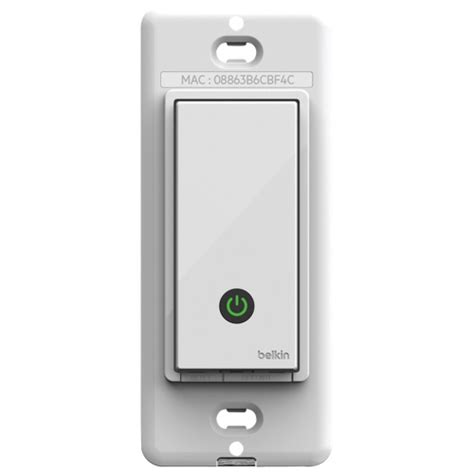 belkin wemo light switch belkin wemo wi fi light switch f7c030fc smart switches
