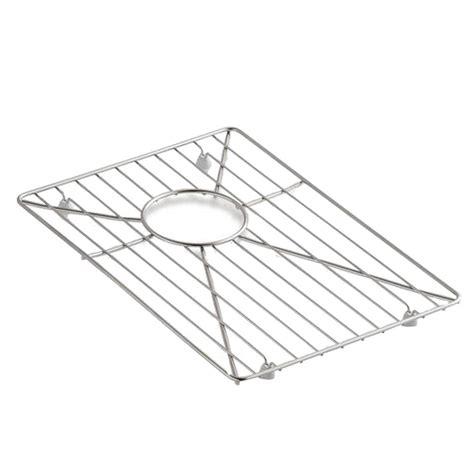 kohler vault and strive stainless steel bottom sink basin
