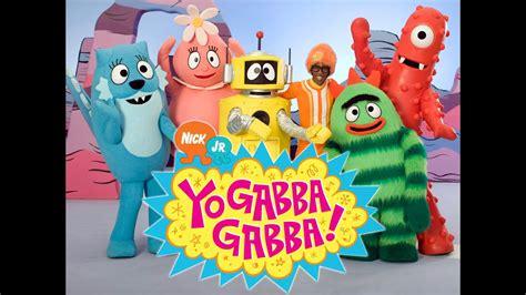 Check out nick singing along to the theme tune here. Yo Gabba Gabba English New 2014 HD Yo Gabba Gabba Mini Arcade Nick Jr Kids - YouTube