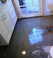 leveling a kitchen floor self leveling concrete 6952