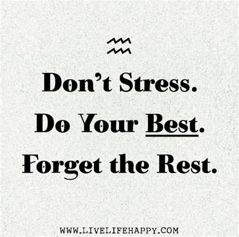 63 Top Stress Quotes And Sayings
