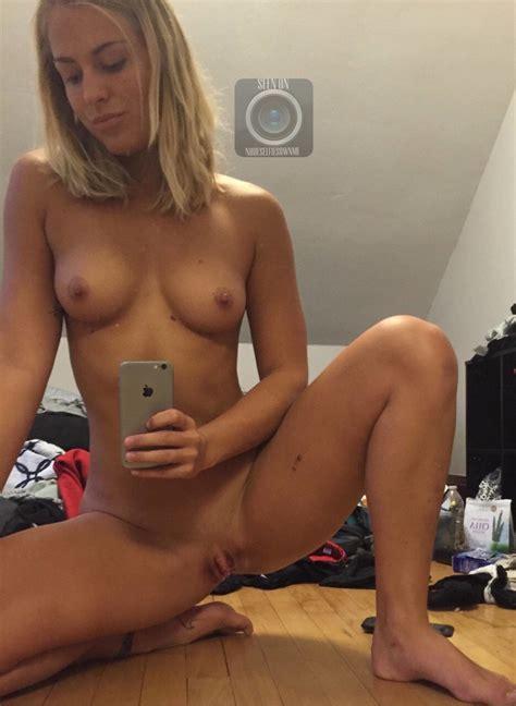 Nude Blonde Selfie Pornguy