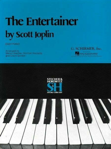 Thank you for this easy version of the entertainer, it really good to find beginners sheet music for the violin show more. The Entertainer by Scott Joplin for Easy Piano Solo Ragtime Jazz Sheet Music for sale online   eBay