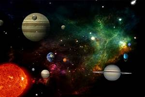 Photo Collection Animated Outer Space Wallpaper