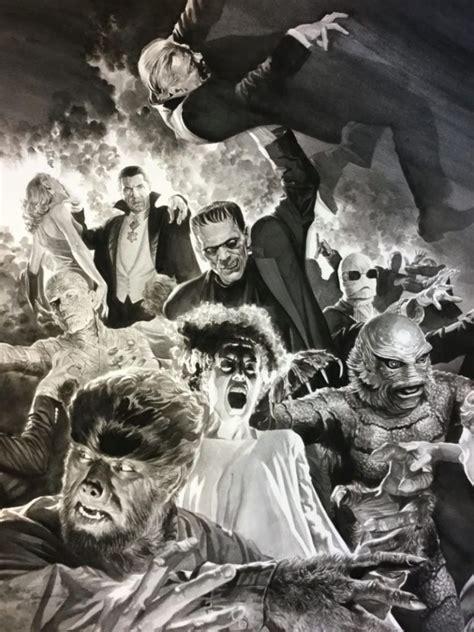 monsters alex ross universal cool bd films drawn via