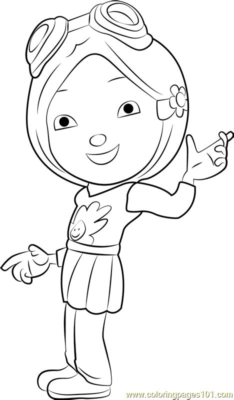 yaya yah coloring page  boboiboy coloring pages coloringpagescom