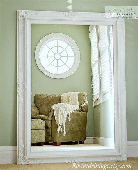 Large Bathroom Mirrors For Sale by Large White Mirror For Sale Vintage Inspired Large