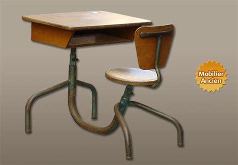 bureau ecolier ancien design industriel mobilier industriel meuble industriel