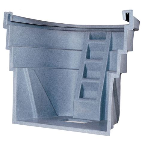 amerimax home products 12 in galvanized area wall 75004