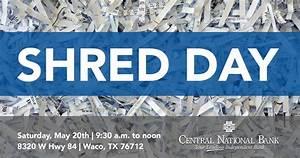 Columbus shredding days bing images for Bank of america document shredding