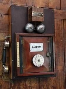 Telephone Mural Vintage : transformation et cr ations de t l phones vintage fonctionnels eric poirier cr ations ~ Teatrodelosmanantiales.com Idées de Décoration