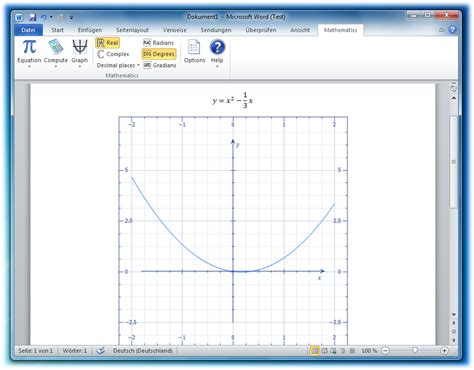 microsoft mathematik add   fuer word und onenote