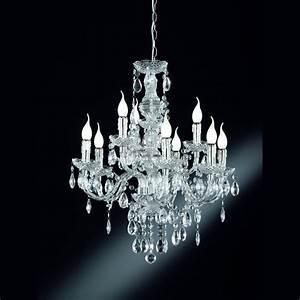 Kronleuchter Mit Kristallen : kronleuchter l sterkrone mit transparenten kristallen ~ Markanthonyermac.com Haus und Dekorationen