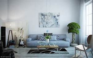 Light filled contemporary living rooms for Kitchen cabinet trends 2018 combined with art prints to hang on your wall