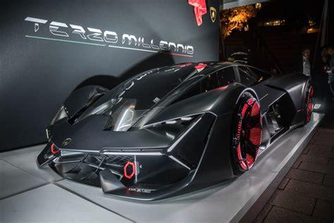 lamborghini unveils  worlds   healing sports car