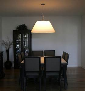 Dining room interior design with big shade ceiling by cp