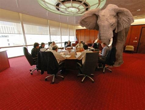 baise dans le bureau un elephant dans le bureau