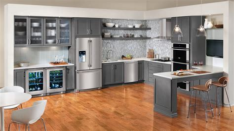 grey kitchen cabinet ideas 15 warm and grey kitchen cabinets home design lover 4068