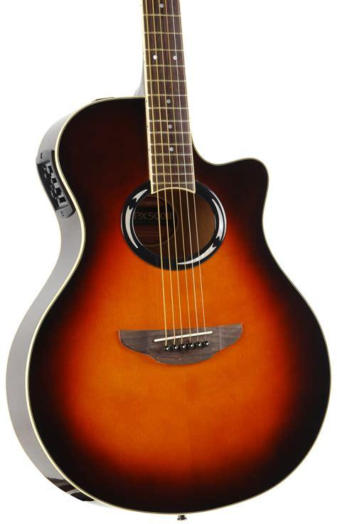 yamaha apx 500 yamaha apx 500 ii ovs acoustic electric guitar