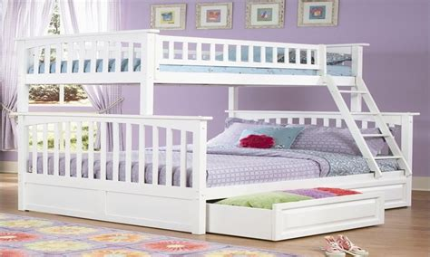 Full Size Bunk Beds For Girls