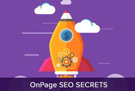 Seo Secrets by Onpage Seo Secrets The Proven Formula For 1 Ranking