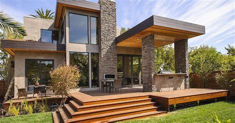 desain rumah kecil unik era modern