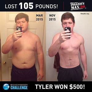 Tyer Lost Over 100 Pounds with INSANITY MAX:30! | The ...