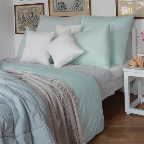 Bamboo Bed Linen In Smoky Grey Sheets, Pillowcases And