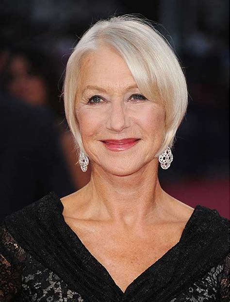 very stylish short haircuts for older women over 50