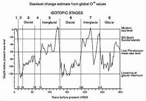 Diagram Showing Changes In Sea Level During Late