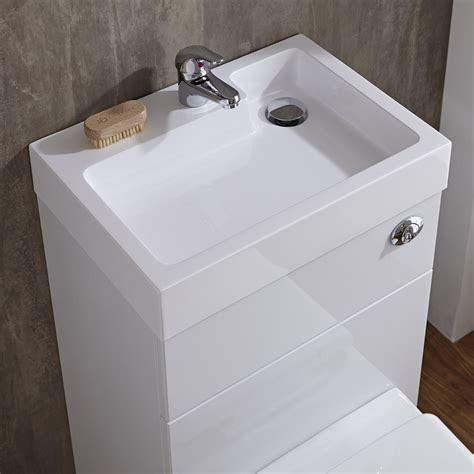 compact bathroom sink unit compact bathroom white combination toilet wc basin sink