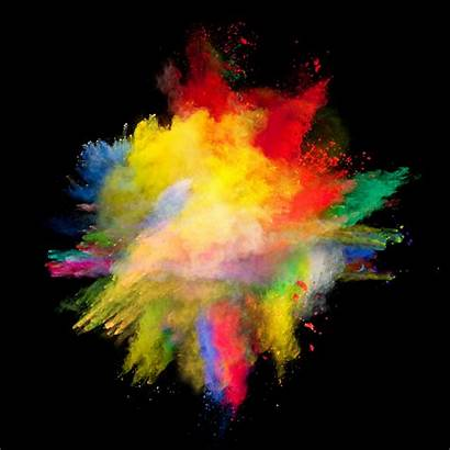Explosion Powder Dust Background Colored Colorful Px