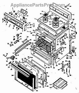 Parts For Ge Jbp24g0j4  Electric Range Parts