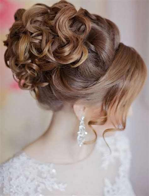 wedding updo hairstyles  brides hair colors
