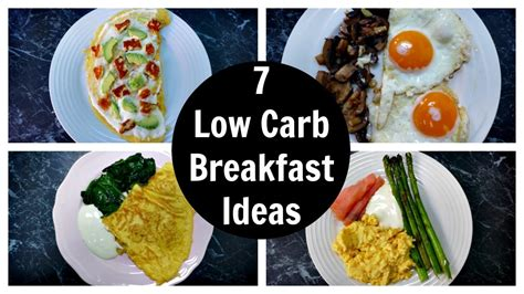 low breakfast 7 low carb breakfast ideas a week of keto breakfast recipes youtube