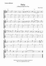 Free Printable Guitar Sheet Music