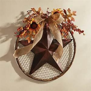 Floral, Star, Wreath
