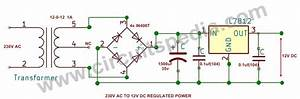 220  230v Ac To 12v  5v Dc Regulated Power Dc Converter