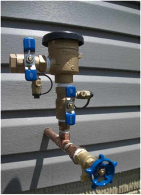 the importance of a backflow preventer irrigation incorporated