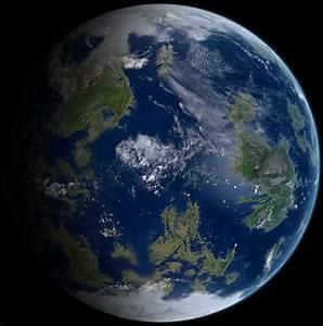 Earthlike planet by Anikoo on DeviantArt