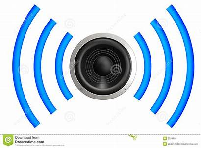 Sound Waves Clipart Speaker Wave Acoustic Isolated