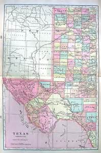 Large Texas State Map