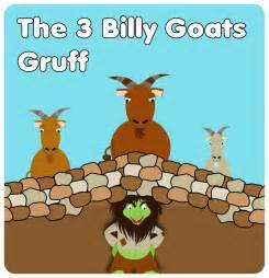 three billy goats gruff story printable yy