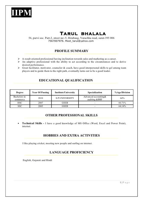 Ieee Cover Letter Exle by Ieee Resume Format 28 Images Ieee Resume Format 28